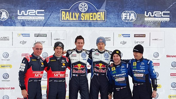 winner of rally sweden 2016